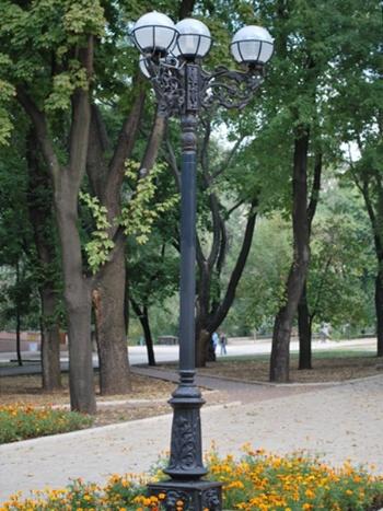Фонари художественные парковые