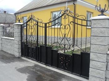 Ворота и Калитки - художественная ковка